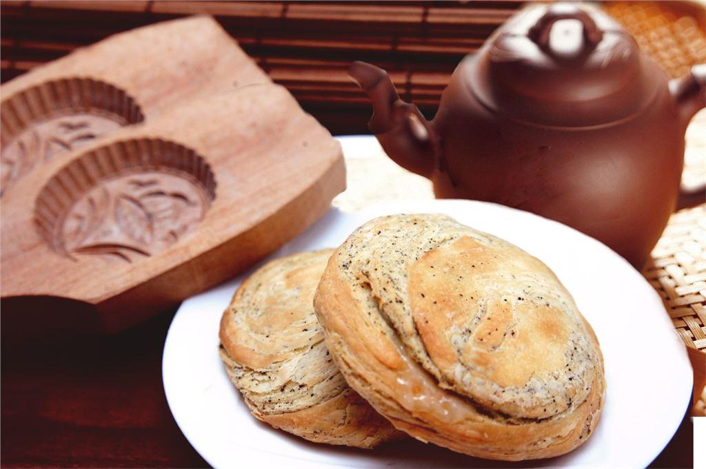 台中伴手禮,台中太陽餅,日月潭紅茶太陽餅,台中好吃的太陽餅